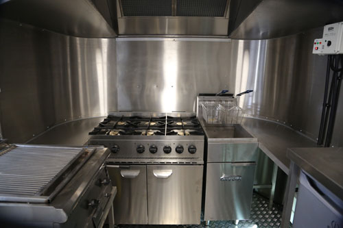 New Retro American Airstream style Catering Trailers manufactured to ...