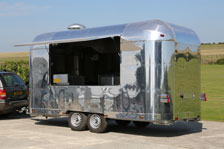 1b6cd6eb95 New Retro American Airstream style Catering Trailers manufactured to ...